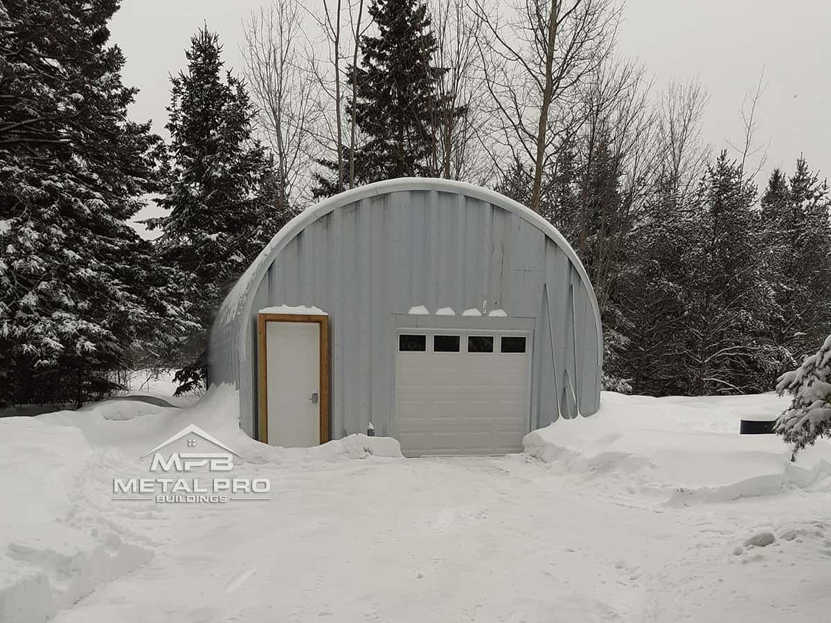 Building With Garage Packages in Alberta - Metal Pro Buildings